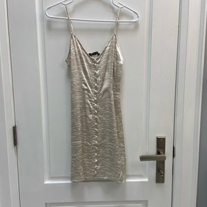 Abercrombie and Fitch Satin mini dress size xs